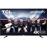 TV TCL 50P616 50 pollici, 4K HDR, Ultra HD, Smart TV con sistema Android 9.0, Design senza bordi (Micro dimming PRO, Smart HD