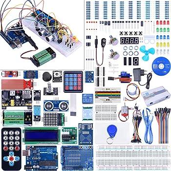 Starter Kit for Arduino UNO Kuman Upgraded Version Full: Amazon.de ...