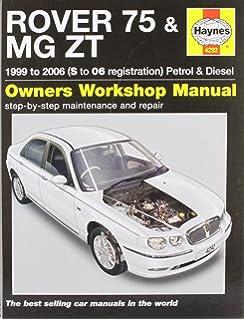 [SODI_2457]   Rover 75 & MG ZT Workshop Manual (Workshop Manuals): Amazon.co.uk: Ltd,  Brooklands Books: 0001855208849: Books | Wiring Diagram Rover 75 Diesel |  | Amazon.co.uk