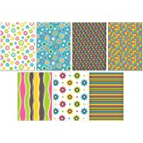 49 Eco Friendly Blank Colourful Pattern Greeting Cards Made from Recycled Cardstock…