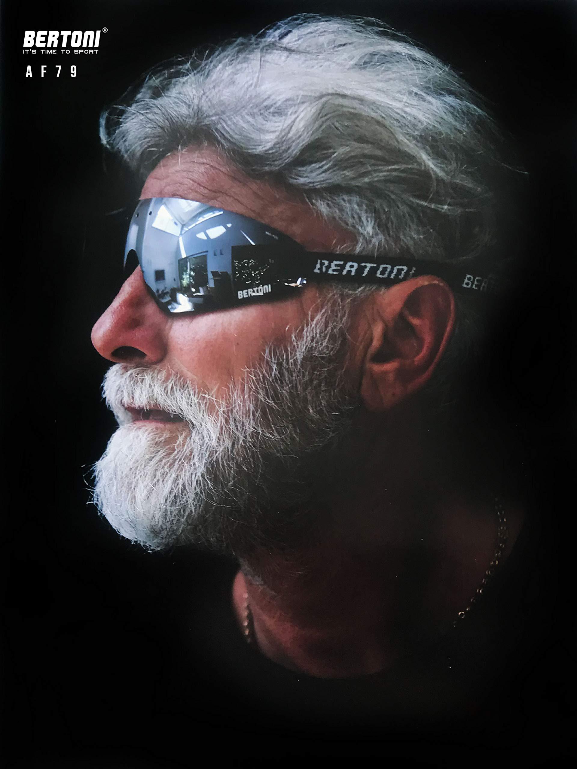 Masque lunettes moto Bertoni AF79 7