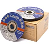 Ipotools Slijpschijven, voor metaal, doorslijpschijven, 125 x 1,0 mm, flexibele schijven, boring: 22,23 mm, voor slijpmachine