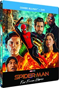 Spider-Man : Far from Home [Boîtier SteelBook limité Exclusif Amazon-Blu-Ray + DVD]