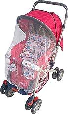 Brunte Daisy Baby Stroller Pram, Red/White