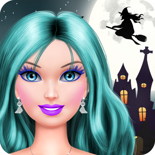 Familie Spiele Dressup (Halloween Makeover: Spa, Makeup and Dress Up - Fashion and Beauty Salon Game!)