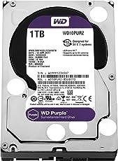WD Purple 1TB Surveillance Hard Drive (WD10PURZ)