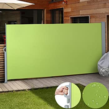 ultranatura maui seitenmarkise ca 180 x 300 cm seitenwandmarkise ausziehbar. Black Bedroom Furniture Sets. Home Design Ideas
