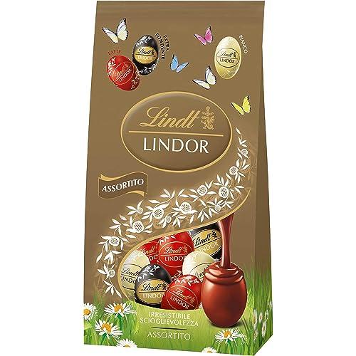 Lindt Bag Ovetti Lindor Assortiti, 180 g