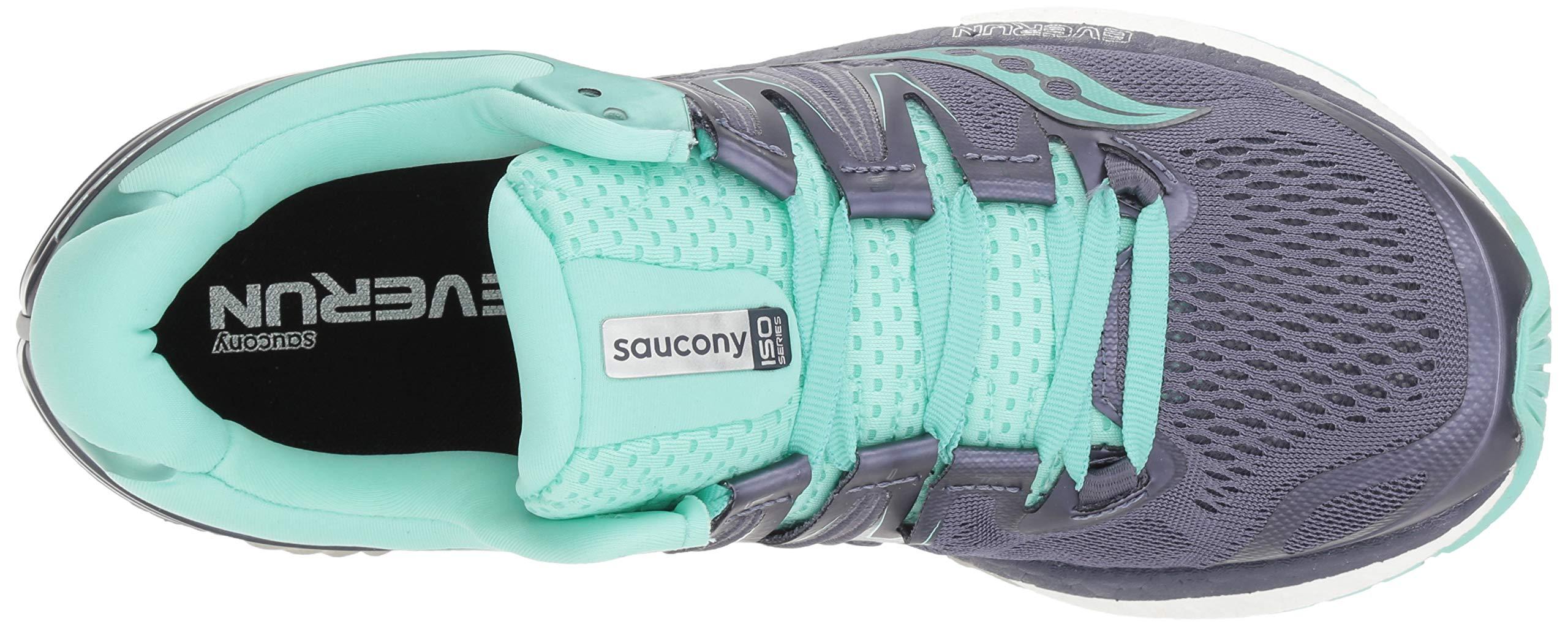 Saucony Women's Hurricane Iso 4 Running Shoe, 0