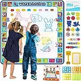 Tobeape® 100 X 100 cm Extra Large Aqua Magic Doodle Mat, Colorful Educational Water Drawing Doodling Mat Coloring Mat for Kid
