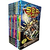 Sea Quest Series 1 and 2 By Adam Blade - 8 Books Collection Set (Mangler The Dark Menace, Crusher The Creeping Terror, Stinge