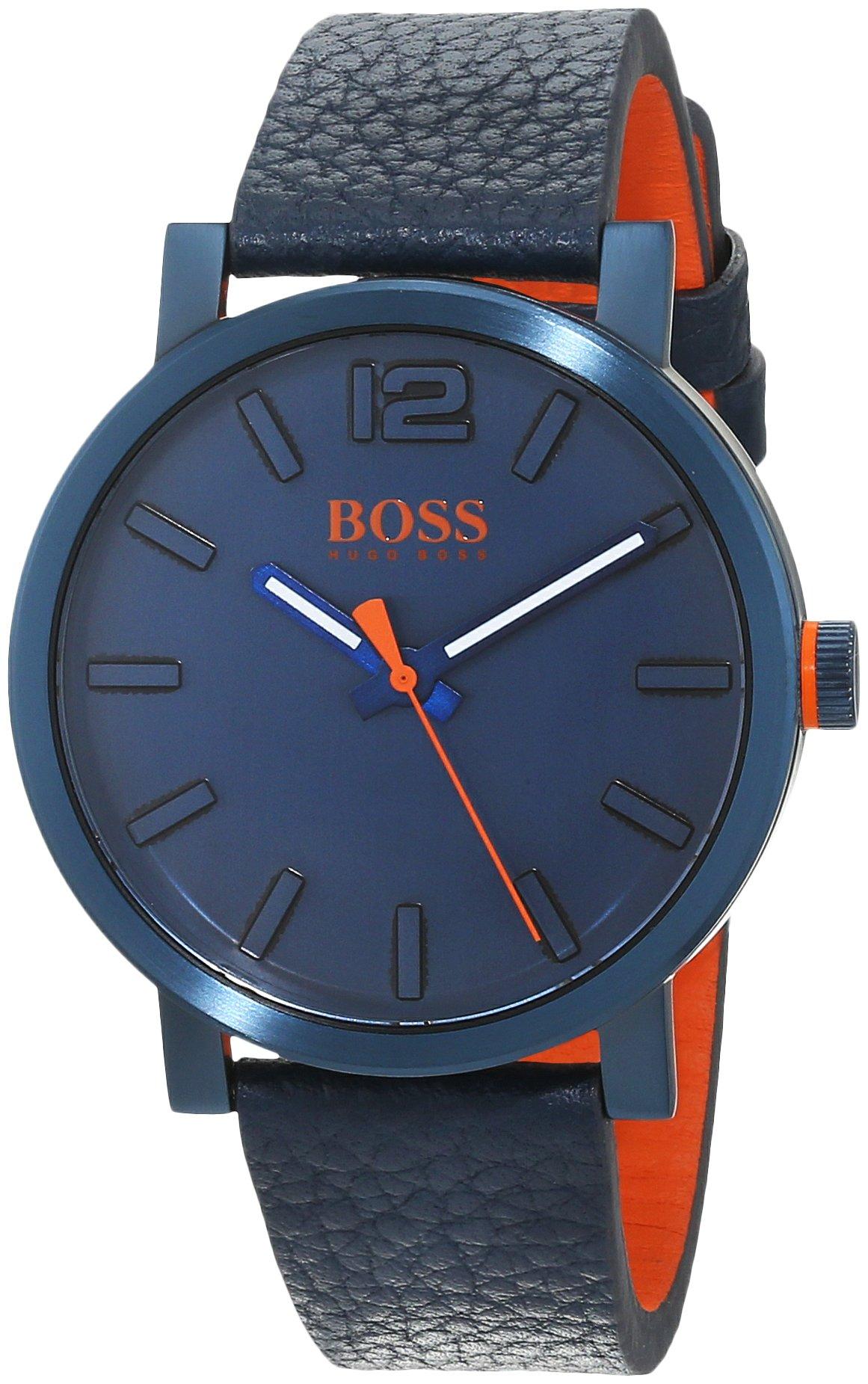 Hugo Boss Orange Reloj Análogo clásico para Hombre de Cuarzo con Correa en Cuero 1550039