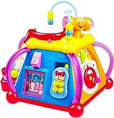 Lernspielzeug mit Musik für Kleinkinder TG654 - Spielcenter für Kinder mit Musik, Lichtern und Geräuschen - Lernspielzeug für kleine Jungen und Mädchen von ThinkGizmos (markengeschützt)