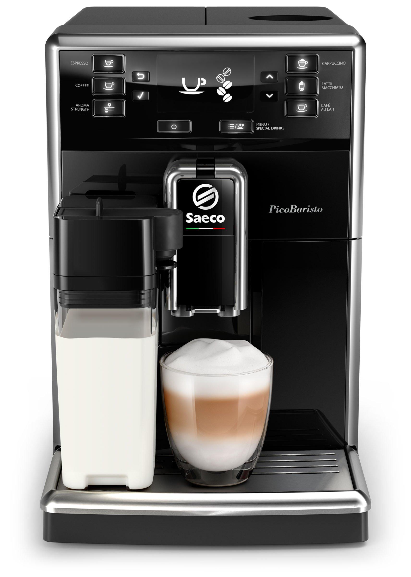 Saeco SM5460/10 PicoBaristo Kaffeevollautomat (Milchsystem) schwarz