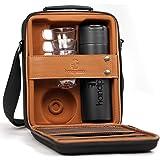 Handpresso 48242 tas / koffer zwart voor handpresso pomp met thermosfles en 3 onbreekbare mokken