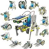 DigHealth 13-in-1 Juguete Robot Solar, Kit de DIY Robots, Alimentado por Solar Juguetes de Construcción, Juguetes Educativa p