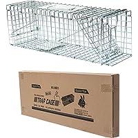 D4P Display4top Gabbia Trappola Professionale per Animali, Catch And Rabbit, Squirrel, Raccoon