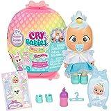 Bebés Llorones Lágrimas Mágicas Dress Me Up Muñeca sorpresa coleccionable que llora y con ropa a vestir, juguete para niñas y