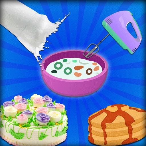 Colorfun Delicious Cupcakes & Pan Cakes Bar for Kids -