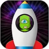 Alien Galaxy Jump: Space
