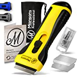 Mansons Ceran® kookplaatschraper I Schraper voor keramische kookplaat en oven I Glasschraper reiniger voor inductiekookplaat