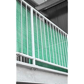 Balkon Sichtschutz Balkonverkleidung 5m Lang 0 90m Hoch Grun