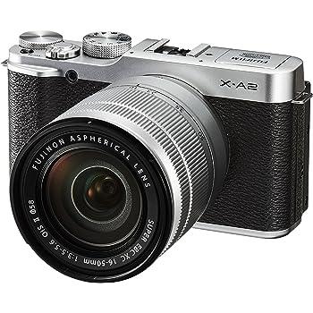 """Fujifilm X-A2 - Cámara EVIL de 16 MP (pantalla 3"""", estabilizador óptico, grabación de vídeo) negro - kit con objetivo Fujinon XC 16-50 mm f/3.5-5.6 OIS II"""