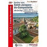 Sentier vers Saint-Jacques-de-Compostelle via Le Puy : Figeac - Moissac ; Rocamadour - La Romieu. Plus de 20 jours de randonn
