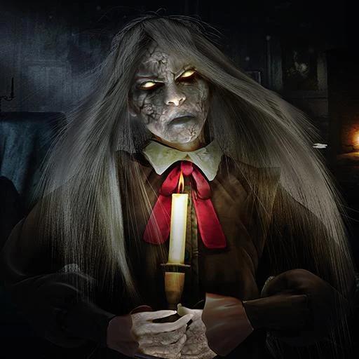 Ghost House Evil Shooter Scary Haunted House Juego en 3D: Evil Spooky Neighbor Hard Time Survival Escape Adventure Simulator Misión gratuita para niños 2018