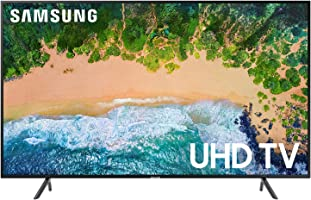 Samsung 49 Inch UHD Smart TV - UA49NU7100KXZN - Series 7 - Black