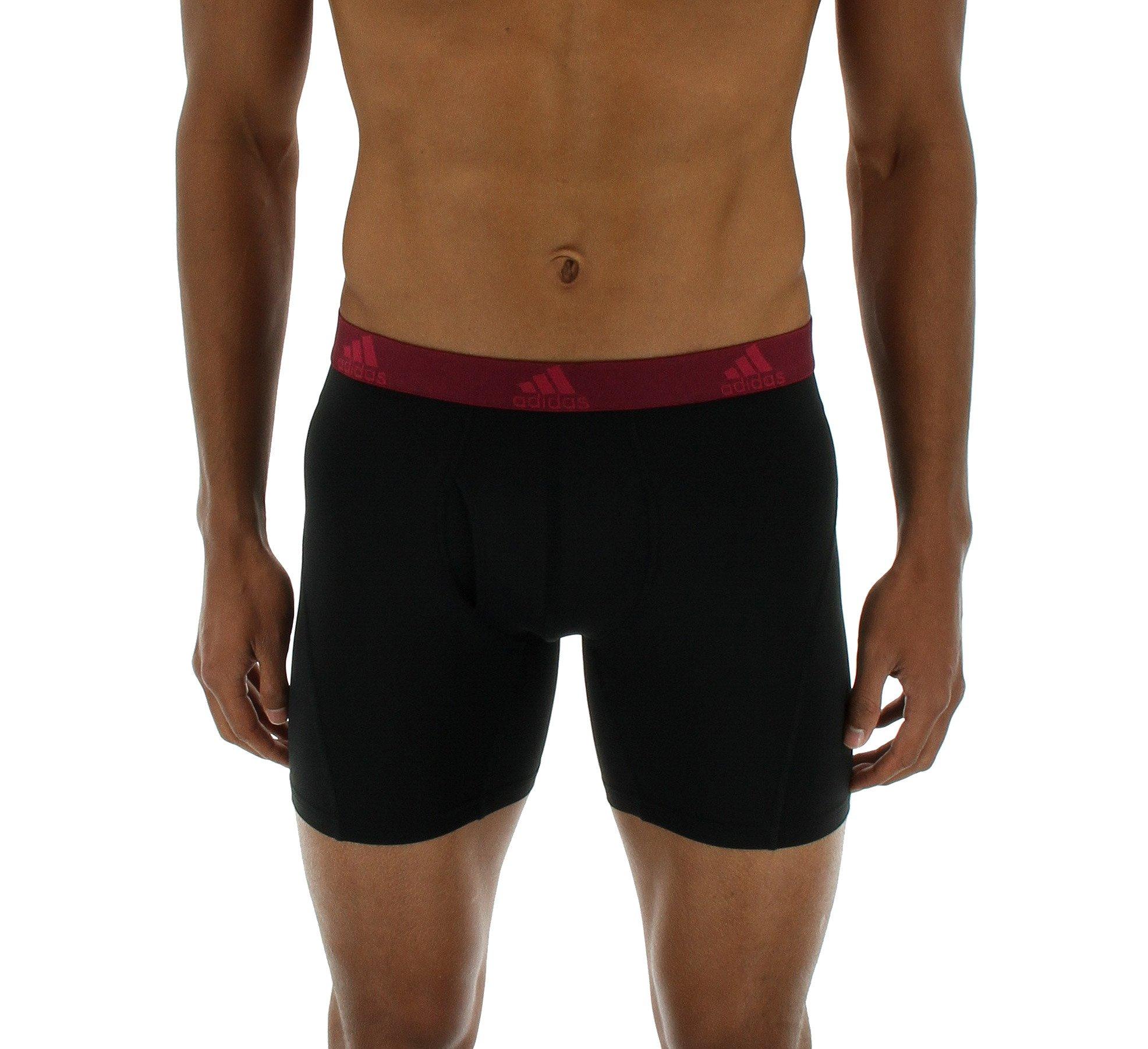 adidas Hombre Relajado Performance Climalite Boxer Breve Ropa Interior (2Unidades)