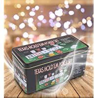 Toyshine Travel Poker Casino Set w/ Play Mat