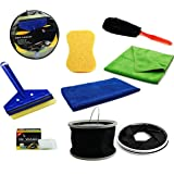 CAR SAAZ DIY(Do It Yourself) 7 Products Car Cleaning Kit/Car Washing Kit Gift Pack