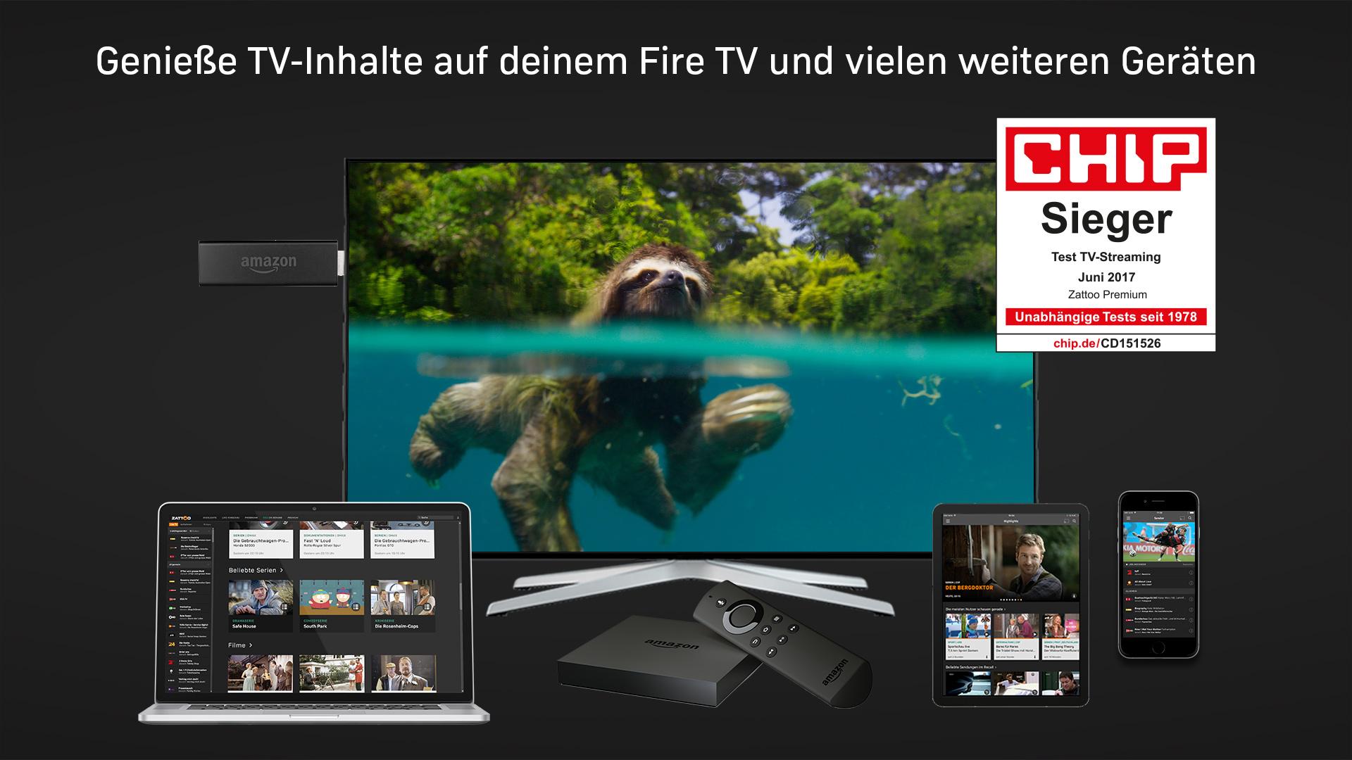 Zattoo TV Streaming: Fernsehen live Screenshot