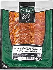 Azuaga- Lonchas Lomo de Cebo Iberico 50% raza iberica - 100 gr