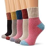 Wool Socks, Moliker Women Socks Winter Socks Vintage Soft Warm Socks for Winter