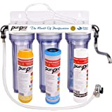 Puri Pro Drinking Water Filtration System - Water Purifier For Municipality Water - Removes All Impurities From Water (Triple