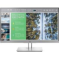 HP EliteDisplay 23.8-inch (60.45 cm) IPS Anti Glare Full HD Monitor with Pivot Rotation and VGA - E243 (Black)