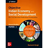Objective Indian Economy and Social Development   Fifth Edition   For Civil Services Preliminary Examination