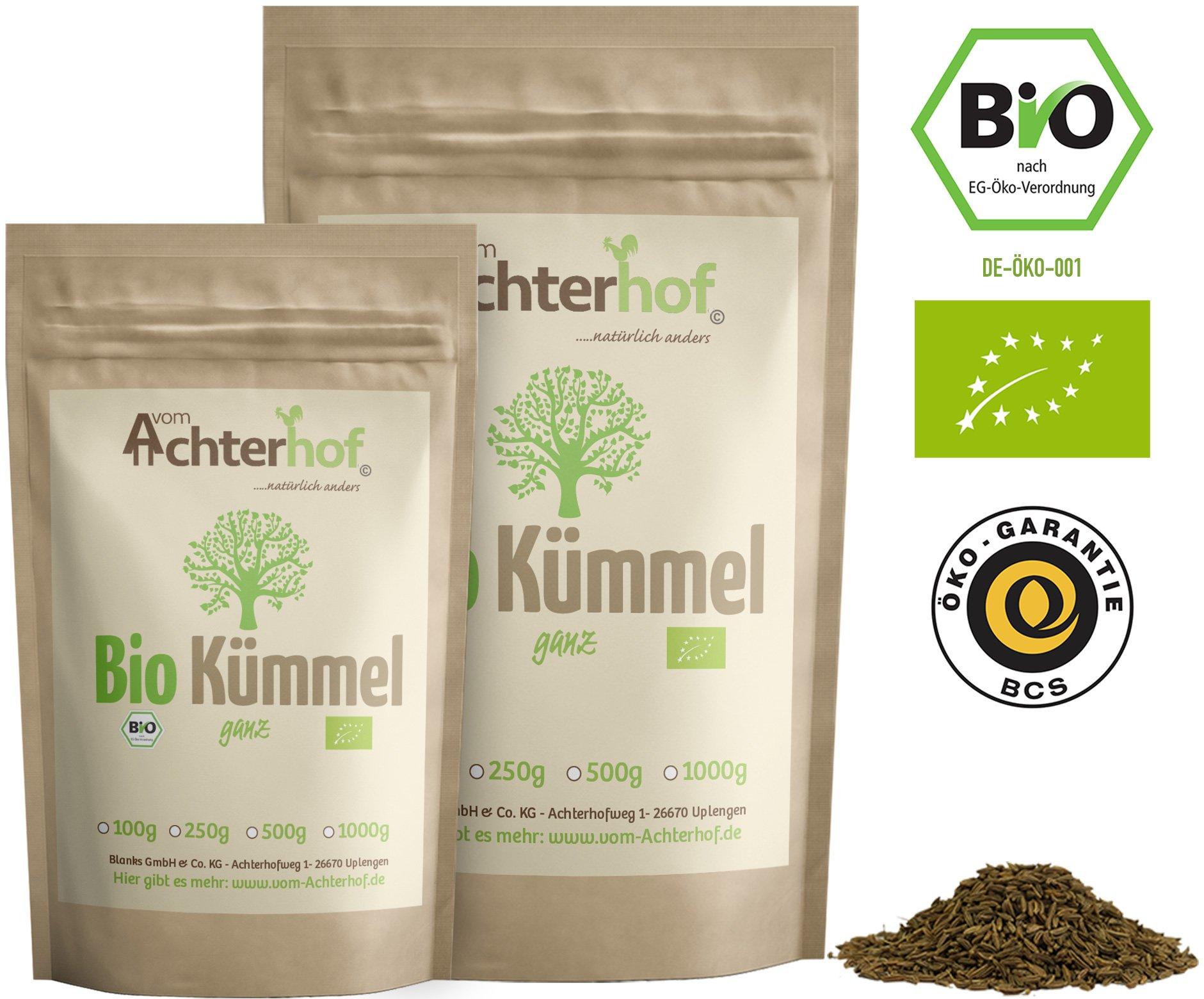 Bio-Kmmel-ganz-echt-500g-Kmmelsamen-Kmmeltee-vom-Achterhof-Kmmelsaat-Caraway-Whole-Organic