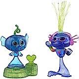DreamWorks Trolls World Tour Techno Reef Bobble con Dos Figuras: una con una Base Bobble Action Plus. Juguete Inspirado en la