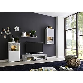 Bmg Mobel Wohnwand Schrankwand Wohnzimmerschrank Anbauwand Tv