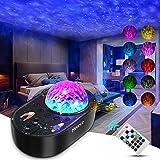 Mereceeu Projecteur Ciel Etoile, 33 Modes Lampe Projecteur LED Étoile, Éclairage Planetarium Projecteur Luminosité Réglable a