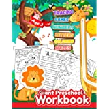 Giant Preschool Workbook: Tracing letters and numbers for preschool , Learning to write for , age 3 and up workbooks for…