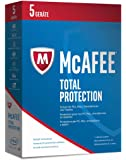 McAfee Total Protection | 2017 Version | 5 Geräte | 1 Jahr | PC/Mac/Smartphone/Tablet | Download