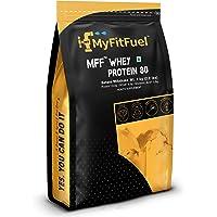 MyFitFuel MFF Whey Protein 80 | 1 Kg, 30 Servings (Banana Milkshake)