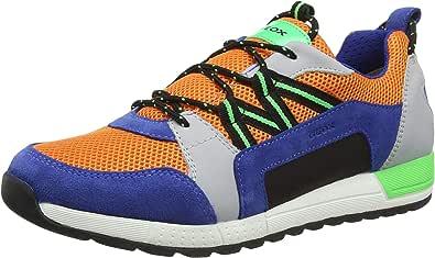Geox Boy's J Alben E Sneaker