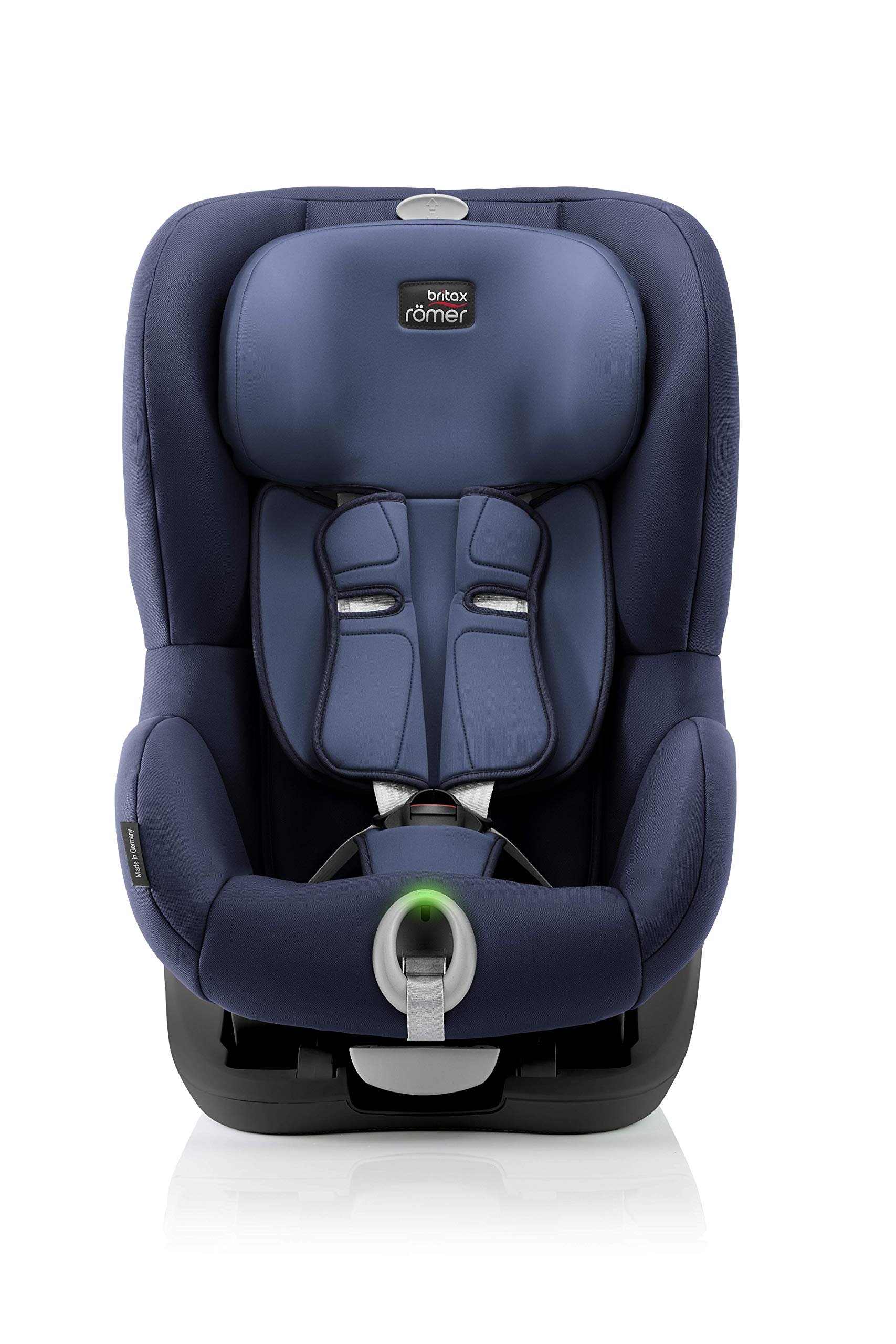Britax Römer King II LS Group 1 Car Seat Britax Römer Easy installation – with tilting seat and patented seat belt tensioning system Optimum protection – performance chest pads, deep, padded side 5