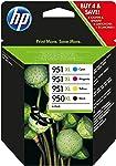 HP 950XL/951XL Multipack Original Druckerpatronen mit hoher Reichweite für HP Officejet Pro 276dw, 8600, 8610, 8620...
