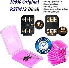 100% Original RSIM 12 Unlock iPhoneX-8-8p-7-7p-6s-6sp-5-5s with iOS 12.0.0, Very Easy & Fast Auto Plug and Play V9.7.7